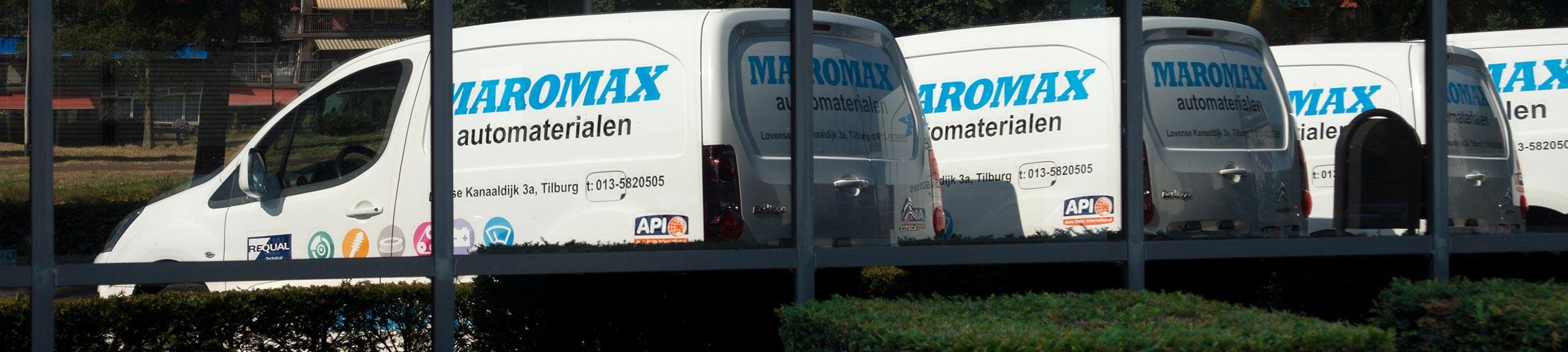 Home Maromax Automaterialen